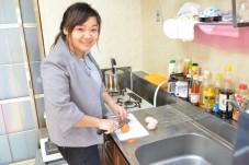 日本の料理も勉強中です。