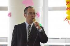 開催の挨拶:重光施設長